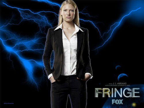 Fringe wallpaper with a business suit, a suit, and a three piece suit entitled Agent Olivia Dunham