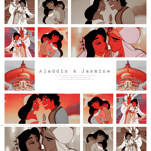 aladdin and jasmim ~ ♥