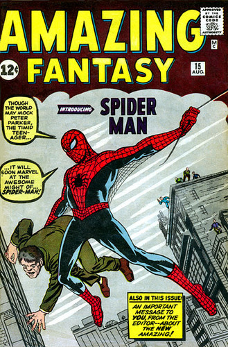 Amazing Fantasy #15 Spider-Man