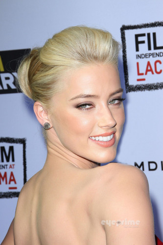 "Amber Heard: ""The ром Diary"" Premiere in Hollywood, Oct 13"