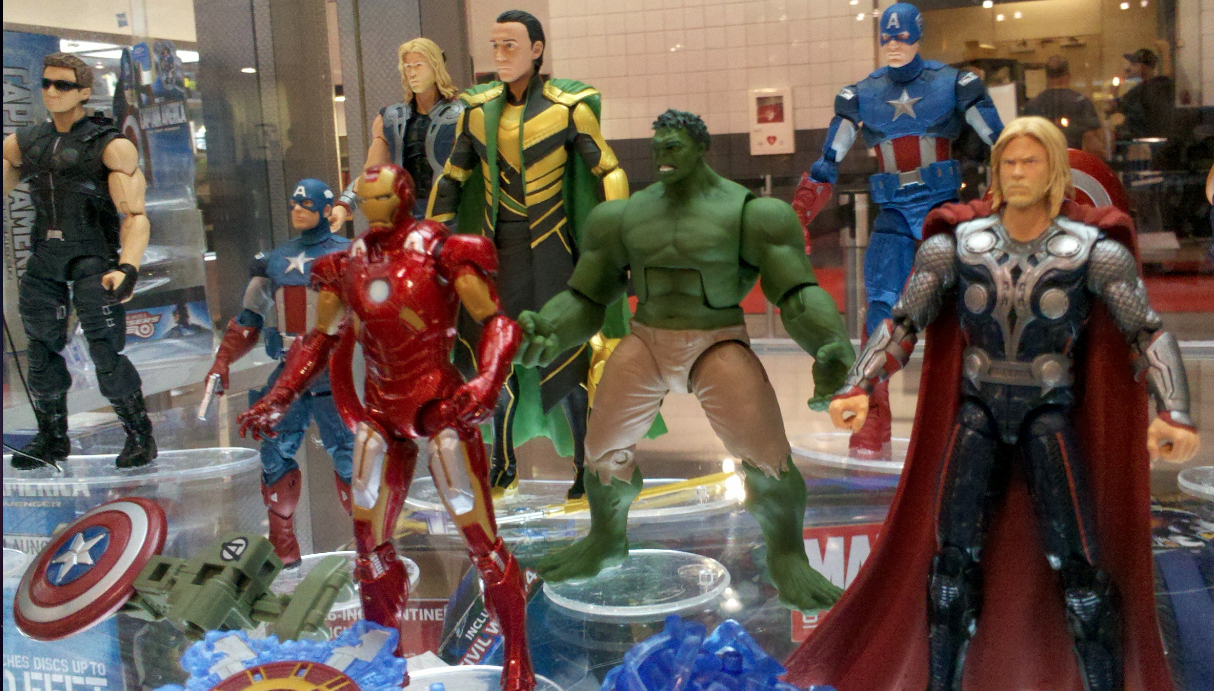 Avengers toy line