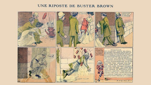 Buster Brown chez lui - 01