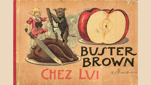 Buster Brown chez lui