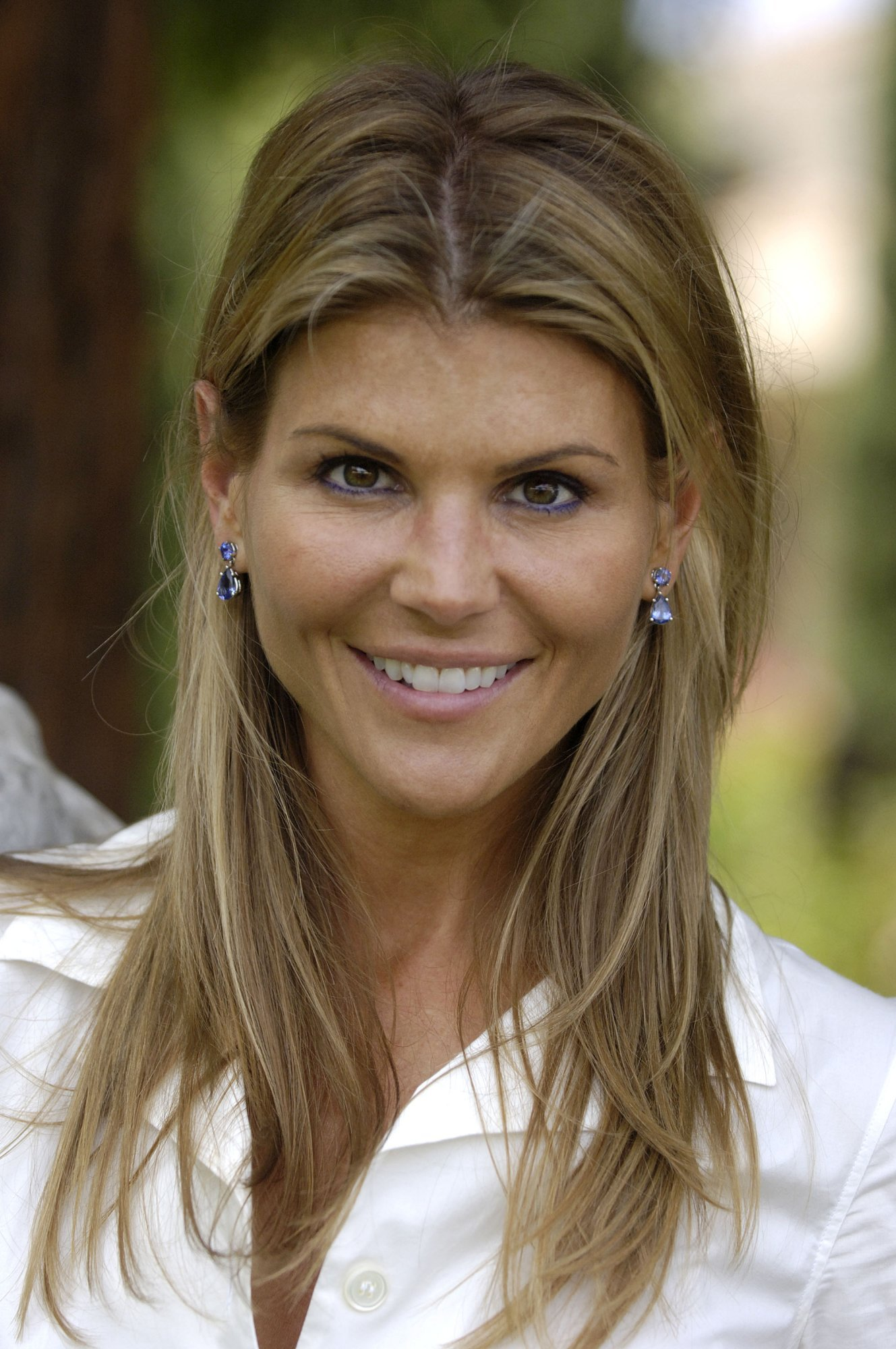 Ombre Bob Hairstyles Lori Loughlin Short Hair Getty Images