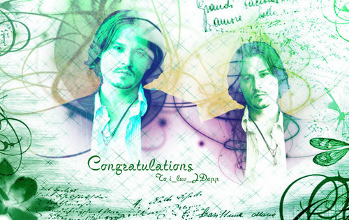 Congratulations To i_luv_JDepp