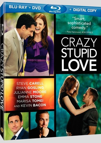 Crazy, Stupid, l'amour DVD and Blu-Ray cover