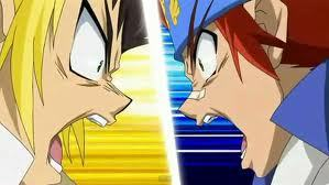 beyblade Metal Fusion wallpaper probably with anime titled Dashan Wang vs Ginga