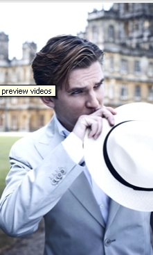 Dan Stevens at Downton