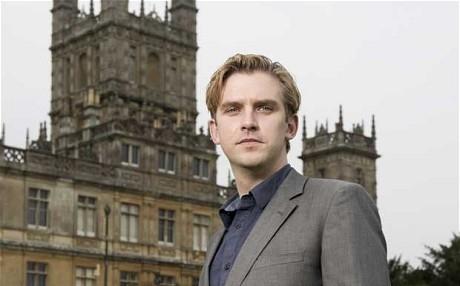 Dan Stevens at Downton