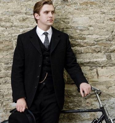 Dan Stevens in Downton Abbey