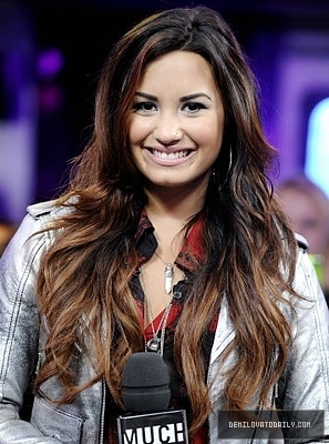 Demi - Visits New.Music.Live - October 13, 2011