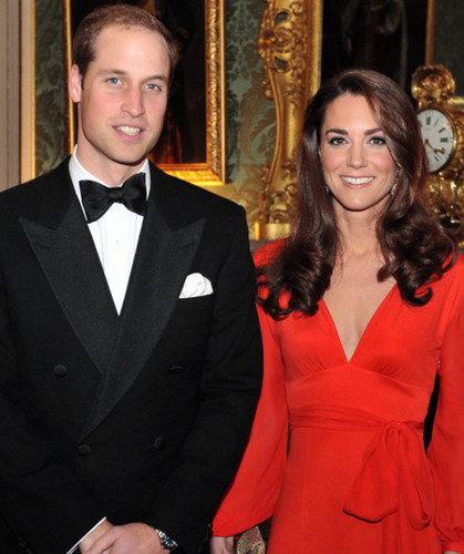 Duchess Catherine and Prince William attend the Black Tie Gala Last October 14.