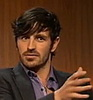 Merlin on BBC photo with a portrait titled Eoin Macken