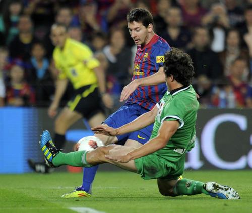 Barcelona Vs Celta Vigo Youtube: FC Barcelona Vs Racing Santander La Liga Week 8 [3-0]