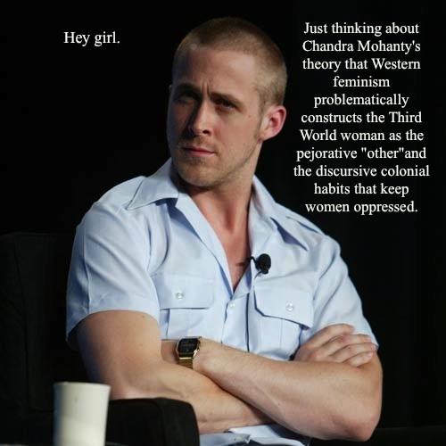 Feminist Ryan gosling, ganso