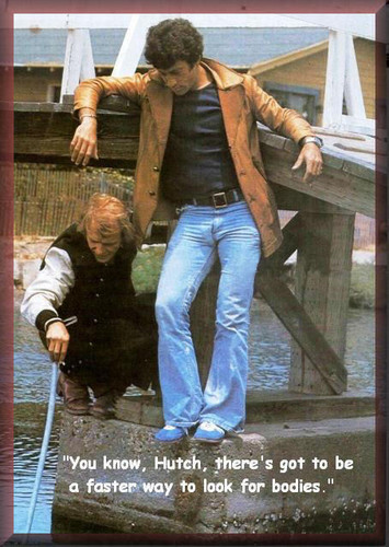 Starsky and Hutch (1975) wallpaper containing a sign entitled Fishing