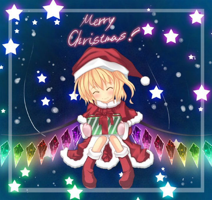 Touhou Horidei images Flandre's Christmas Present HD wallpaper and ...