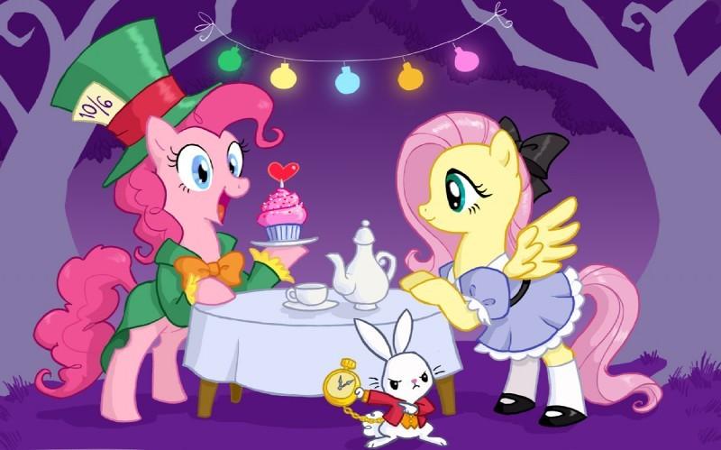 Fluttershy In Wonderland~!