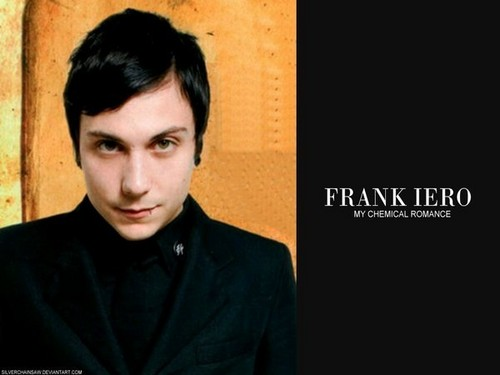 Frank Iero wallpaper possibly containing a portrait called Frank