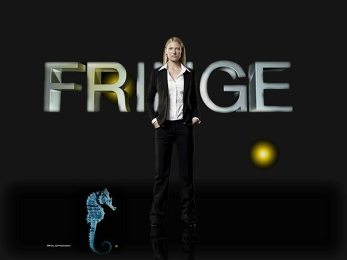 Fringe wallpaper probably containing a well dressed person, a business suit, and long trousers titled Fringe