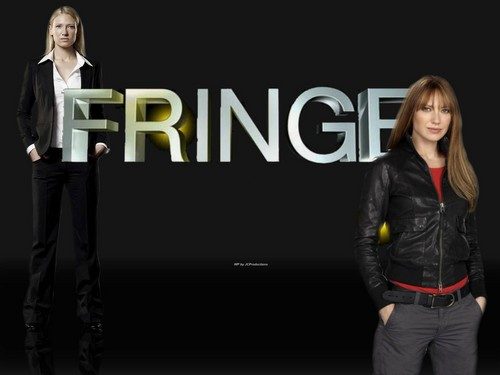 Fringe wallpaper probably containing a business suit and a well dressed person called Fringe
