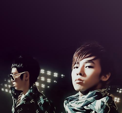 G-Dragon and T.O.P