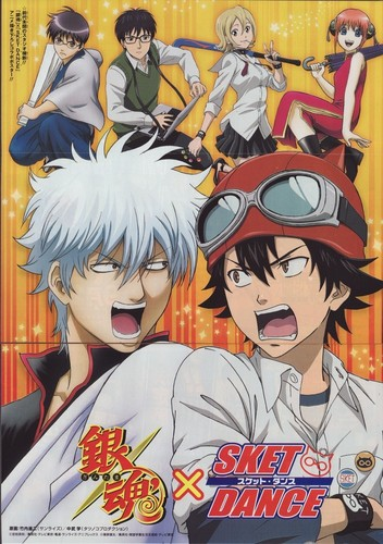 Gintama wallpaper with anime called Gintama & Sket Dance
