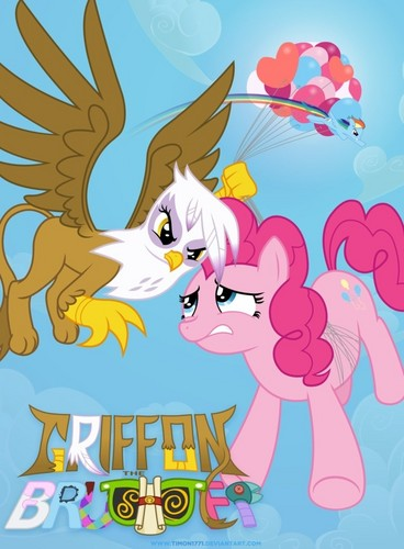 My Little ngựa con, ngựa, pony - Friendship is Magic hình nền containing anime titled Griffon the Brush Off Poster