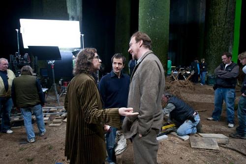 Harry Potter behind the scenes
