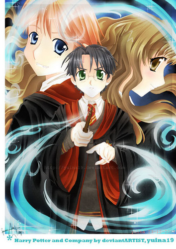 Herry potter anime