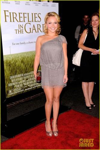 Hilary @ Fireflies in the Garden LA Premiere