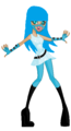 Hula BlueTear-Kanibal - glamix-at-monster-high fan art