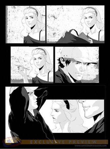 Hush, Hush Graphic Novel