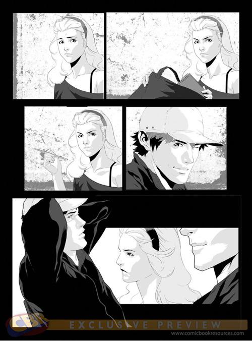 Hush, Hush Graphic Novel - Hush, Hush Photo (26026930) - Fanpop  Hush, Hush Grap...