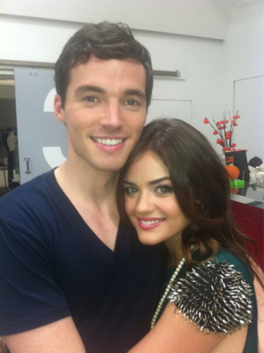 Ian/Lucy..♥ - ezra-and-aria Photo