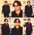 JD at The rum diary premier