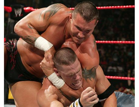 John Cena and Randy Orton