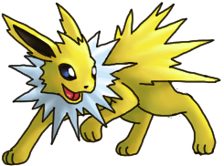Jolteon, the banner image