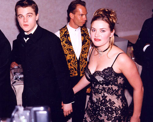 Kate and Leo in 1998