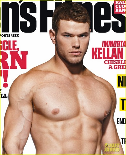 Kellan Lutz: Shirtless for 'Men's Fitness' Cover!