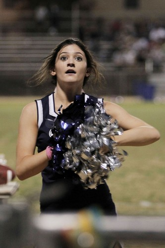 Kendall and Kylie Jenner cheerlead at their High School