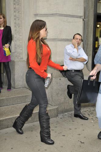 Khloe Kardashian in NYC