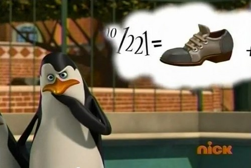 Kowalski is thinking about shoes