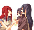 Kushina, Mikoto and Itachi - kushina-uzumaki photo