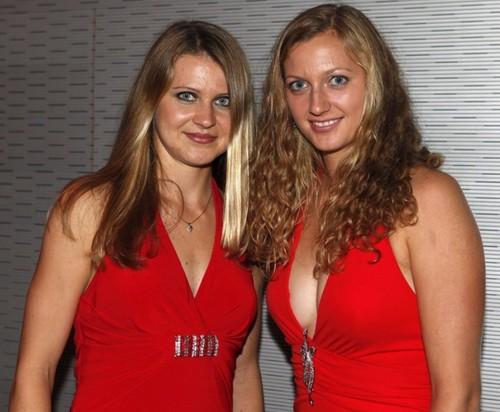 Kvitova and Safarova red...