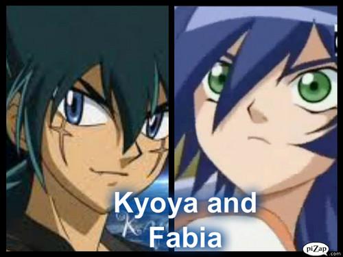 Kyoya and Fabia