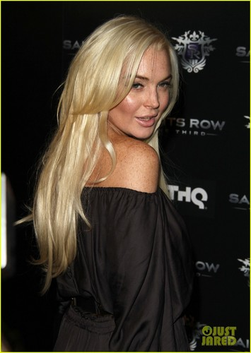 Lindsay Lohan: 'Saints Row: The Third' Launch Party!