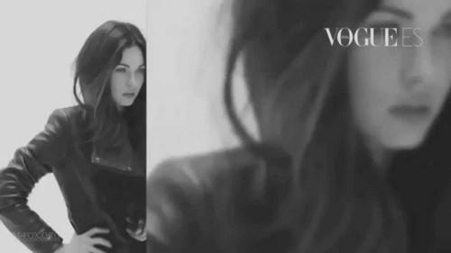 Megan fuchs Vogue Spain October 2011 Outtakes