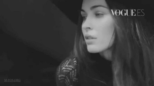 Megan لومڑی Vogue Spain October 2011 Outtakes