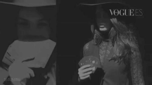 Megan rubah, fox Vogue Spain October 2011 Outtakes